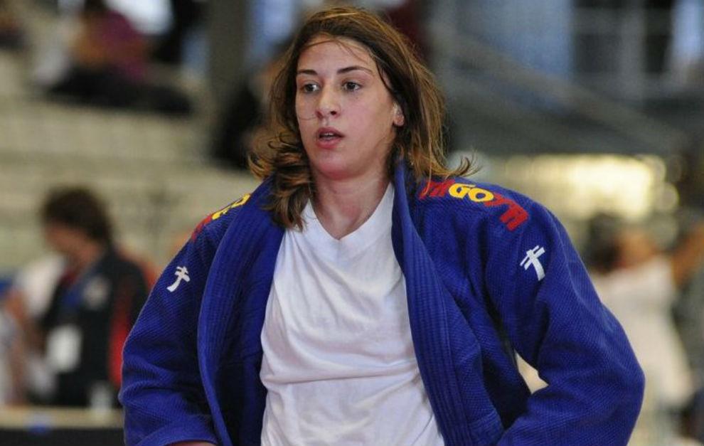 Isabel Puche, en una competición.