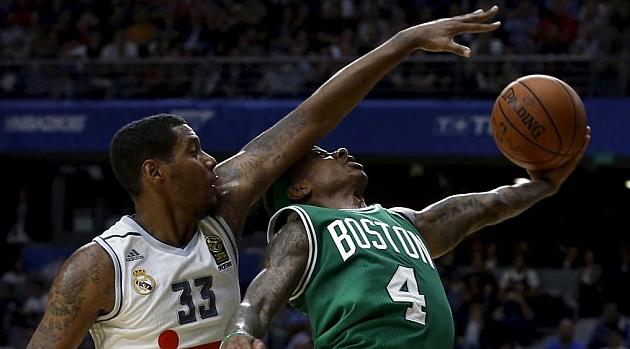 Boston se disfraza de Celtics y se da un festín en Madrid
