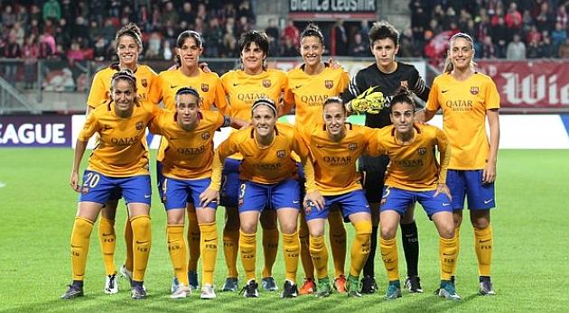 Once inicial del Barcelona ante el FC Twente.