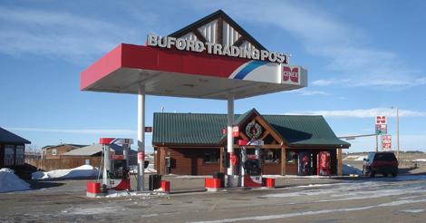 La gasolinera en Buford. | Reuters