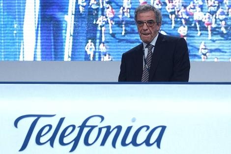 César Alierta, presidente de Telefónica. | Javier Barbancho