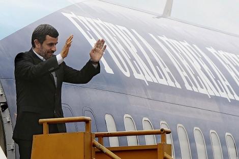 Mahmud Ahmadineyad, el pasado 13 de enero en Quito. | Efe