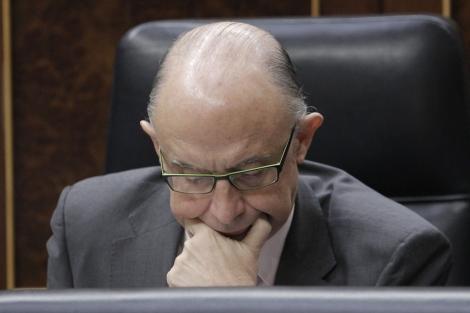 El ministro de Hacienda y Administraciones Públicas, Cristóbal Montoro.   Efe
