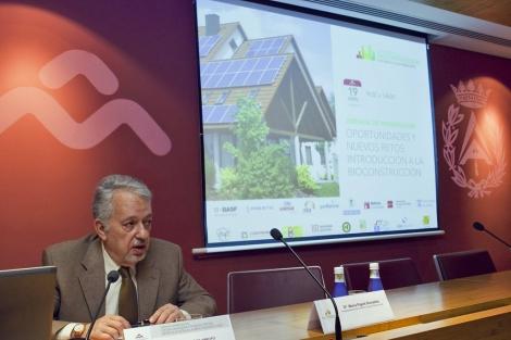 Jesús Paños, presidente del Colegio de Aparejadores de Madrid. | ELMUNDO.es