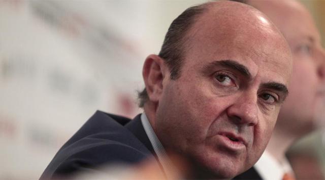 El ministro de Economía y Competitividad, Luis de Guindos. | Antonio Heredia