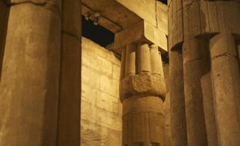 Sala hipóstila en Luxor. | F. C.