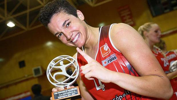 Laura Nicholls, de estar retirada de forma temporal a ser MVP de la Liga