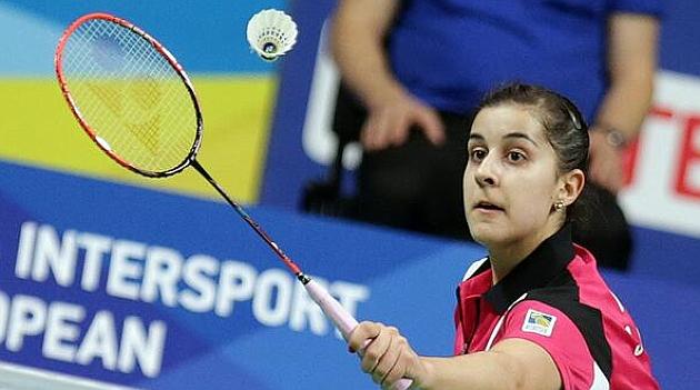 Carolina Marín se impone en la final del Europeo