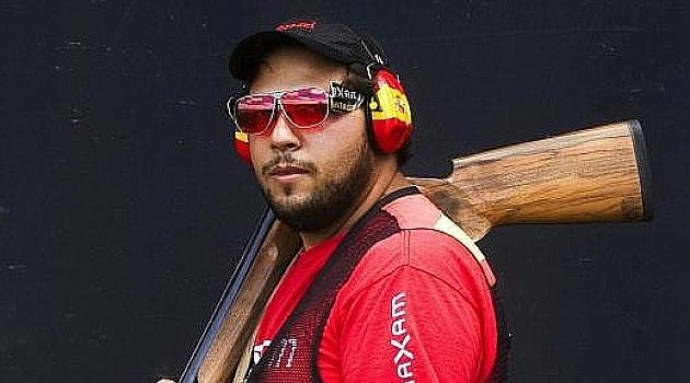 Alberto Fernández, medalla<br /><br /><br /><br /><br /><br /><br /><br /><br /><br /><br /><br /><br /><br /><br /><br /><br /><br /><br /><br /><br /><br /><br /><br /><br /><br /><br /><br /> de oro en Foso Olímpico