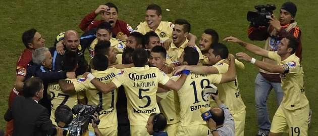 América golea 3-0 a Tigres y conquista el Apertura 2014