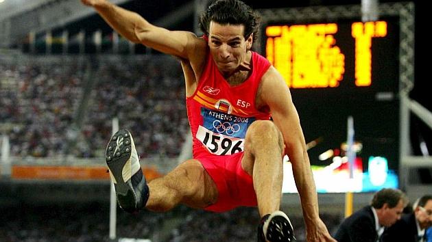 Yago Lamela en los Juegos de Atenas. Foto: MARCA