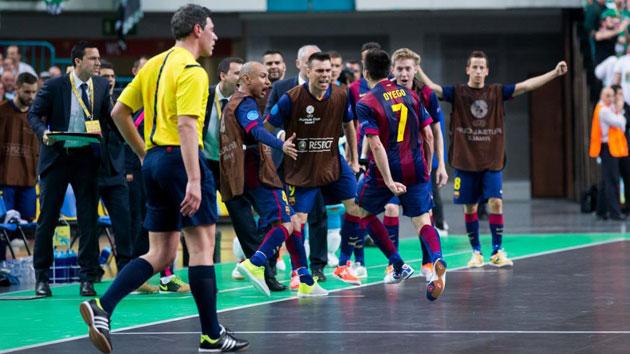 El Barça se carga al anfitrión y defenderá su título