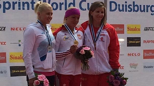 Teresa Portela se cuelga el bronce en K1 200 metros