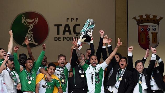 Un heroico Sporting gana la Copa en los penaltis