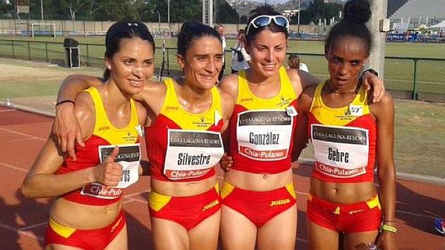 Victoria de Trihas Gebre y dos platas de España por equipos