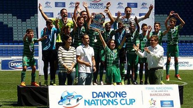El Cornellà repite victoria en la Danone Nations Cup