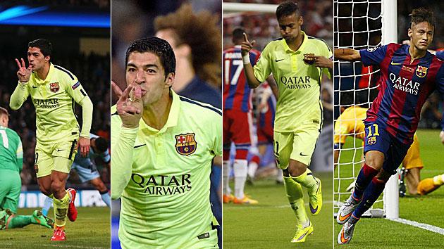 La Champions perfecta del Barcelona