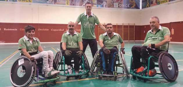 El equipo 'Los Toros-FLM' de rugby en silla