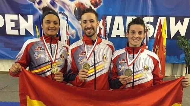 España logra seis oros en Varsovia