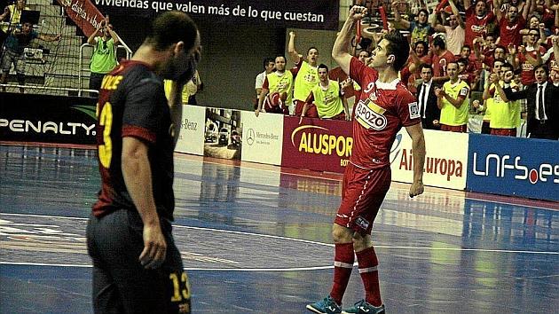 Rafael García, más conocido como 'Bebe', jugador del El Pozo Murcia.