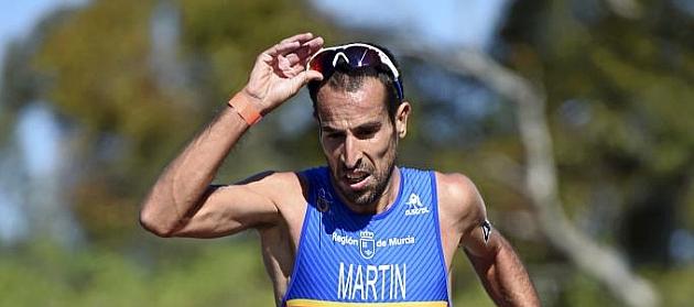 Emilio Martín, en el Mundial de 2015