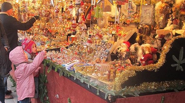 Puesto en los Mercadillos de Navidad