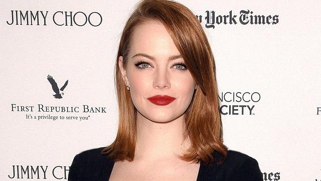 Las 30 mujeres más bellas del mundo, Emma Stone