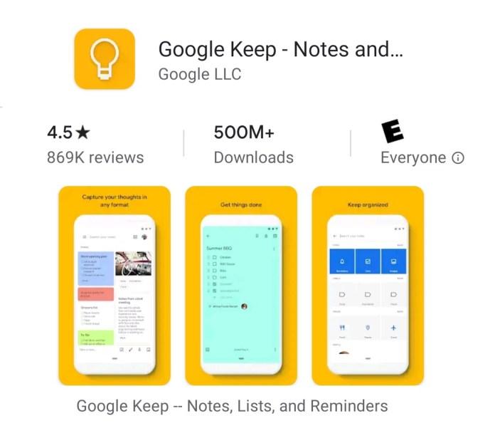 Apps que deberías tener en tu Smartphone Android google keep esta tuani