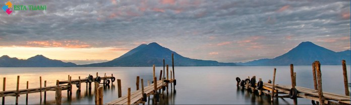 Los Lagos mas grandes de Centroamerica, Lago Atitlán, Guatemala