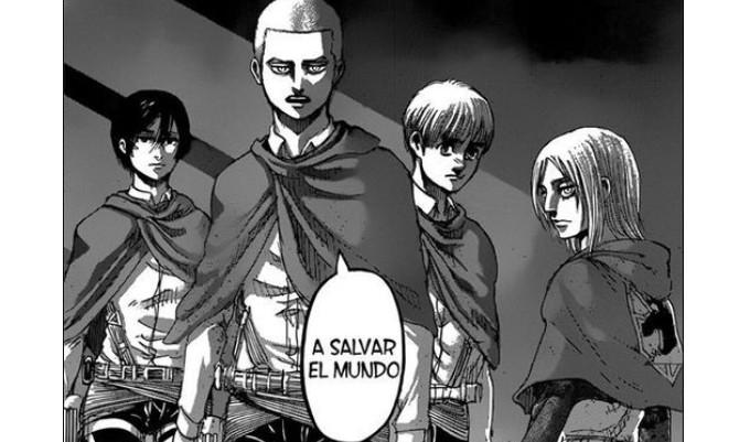 Shingeki no Kyojin capitulo 126: Orgullo