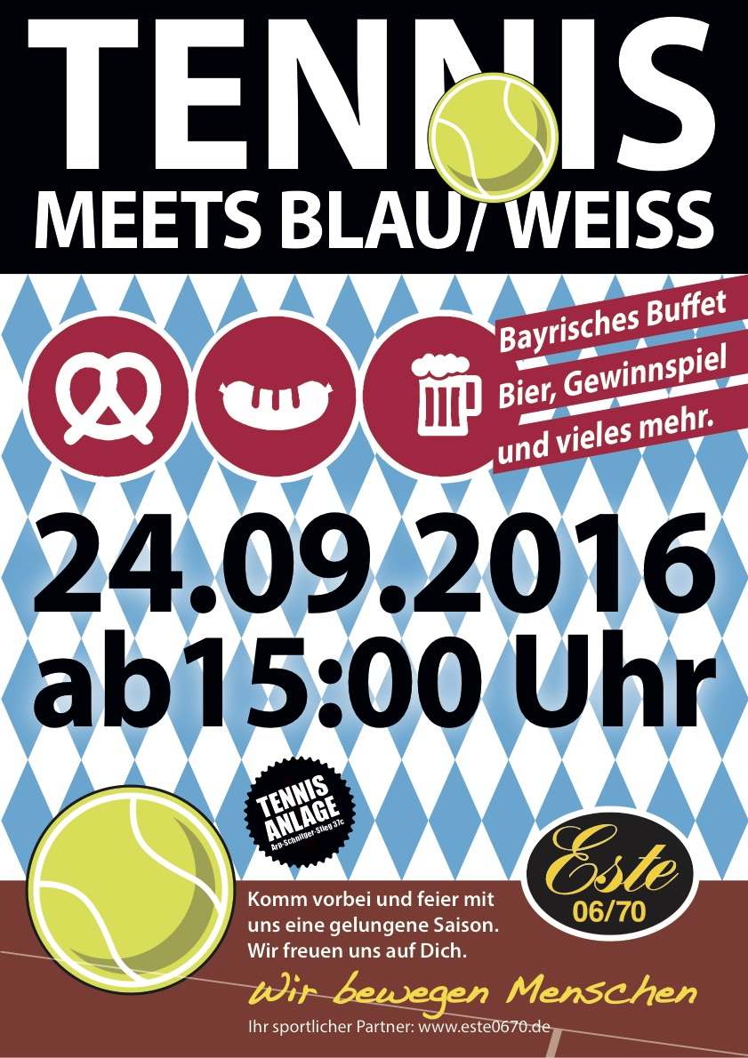 Tennissommerparty 2016