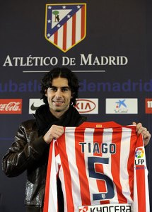 Presentación de Tiago temporada 2009/10 en invierno