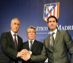 Gregorio Manzano, Enrique Cerezo y José Luis Pérez Caminero