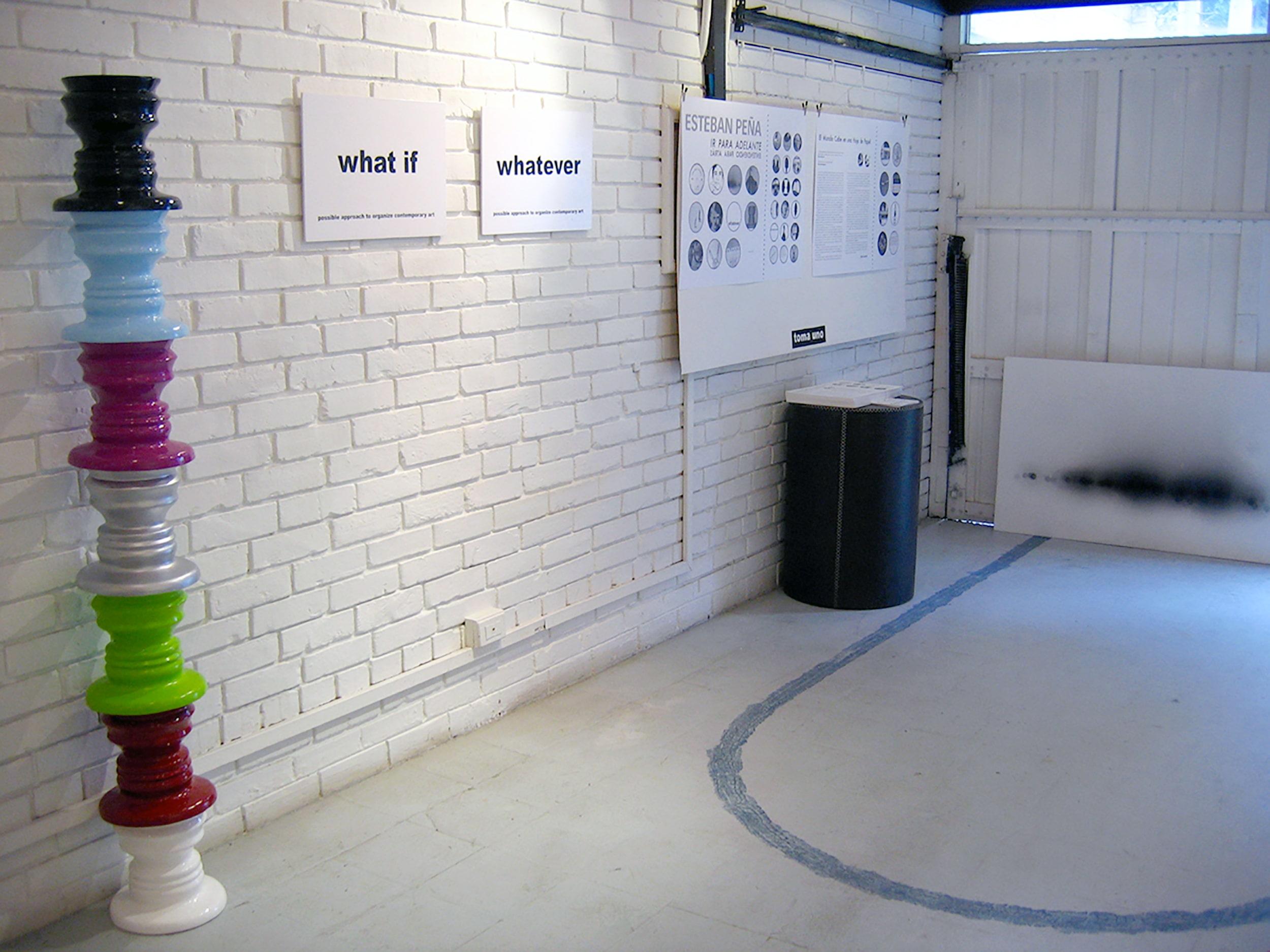 galeria el garaje esteban peña art