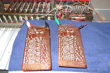 Two boards, ready for further testing