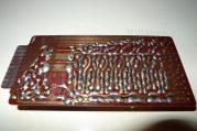 Eb oscillator board, back side