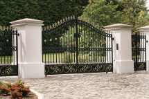 Wrought Iron Gate Designs Entrance