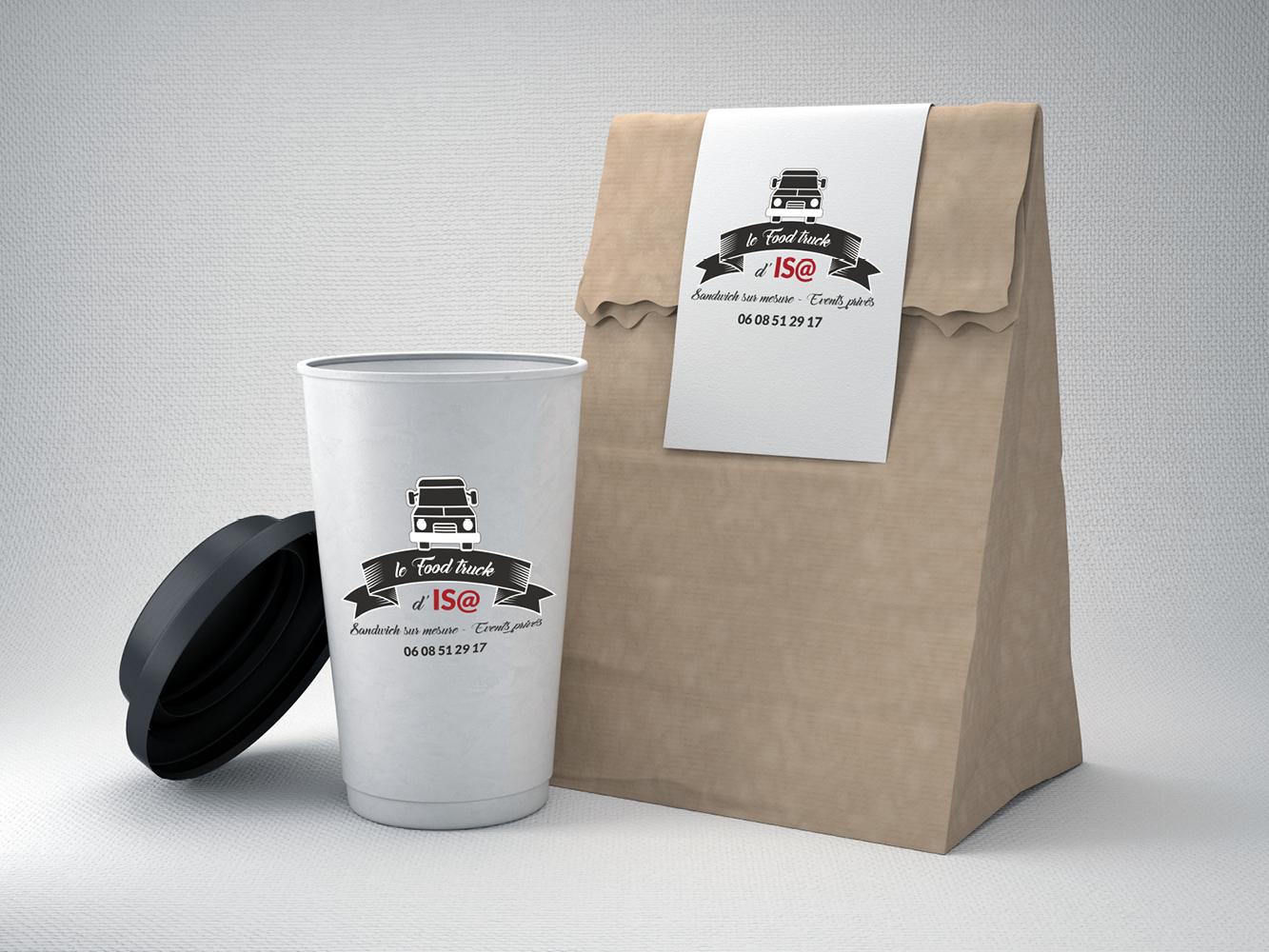 packaging Food truck d'isa