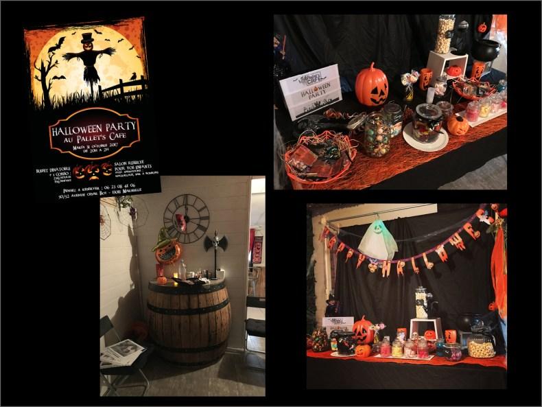 candy bar halloween enfant pallets cafe
