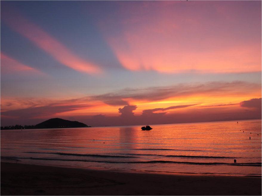 kohSamui couche de soleil 4