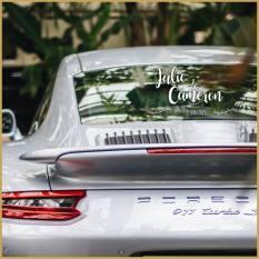 adhesif voiture maries