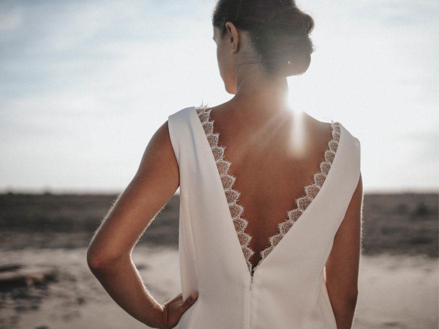 Créatrices de robes de mariée Belle En soie