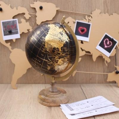 globe carte du monde
