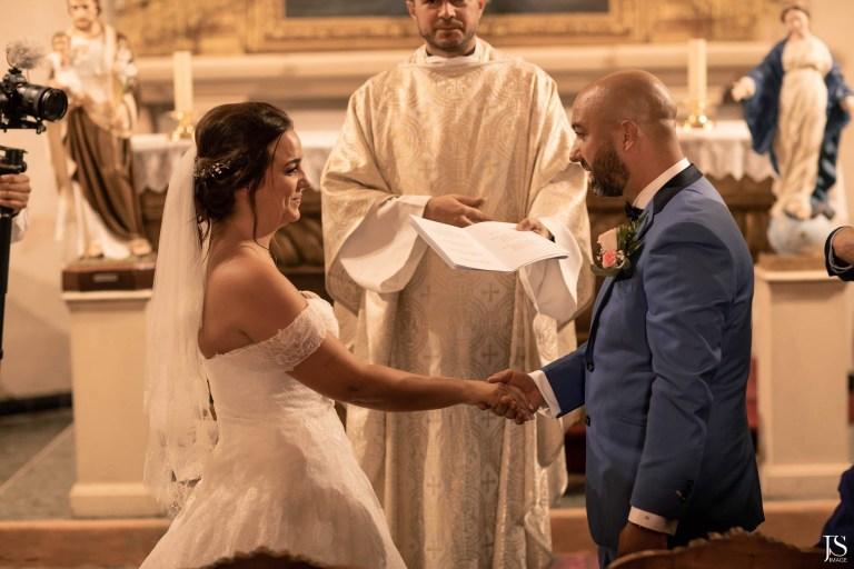 mariage église Lara et Jean-Michel