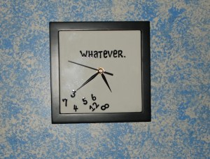 Whatever Clock