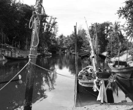 Bateaux, thaïlande