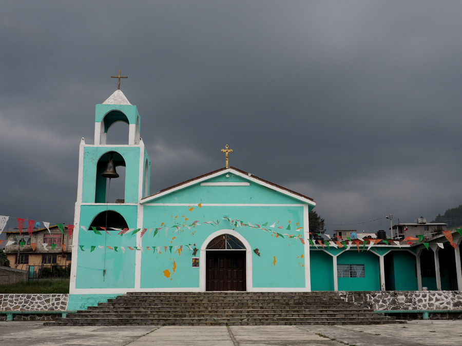Église, Toluca, Mexique