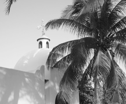 playa-del-carmen-eglise-nb