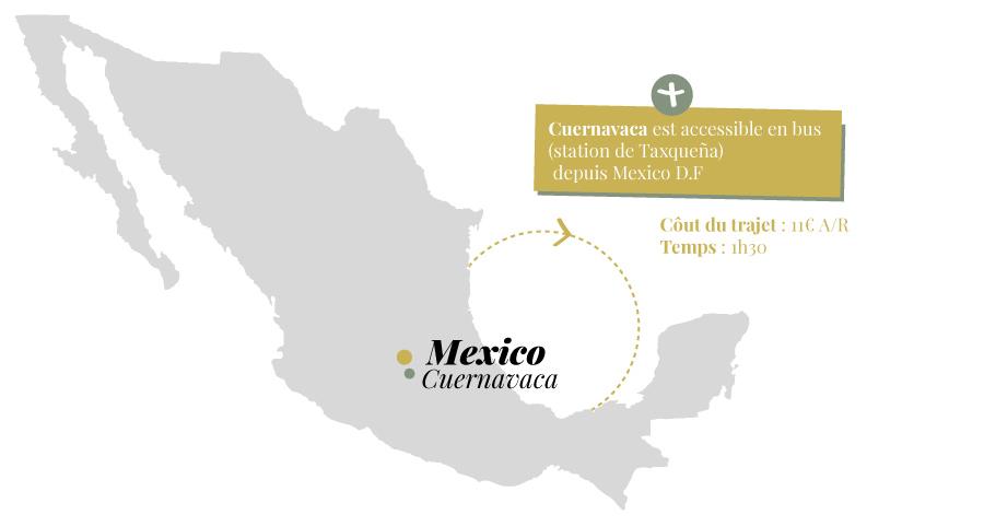 Cuernavaca, carte