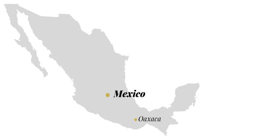 Oaxaca, carte